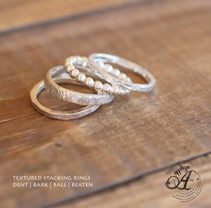 Stacking ring- Thick bead style stacker