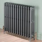 MHS Ionic 70/4 700mm Height Traditional Cast Iron Multi Column Radiator in Primer Finish