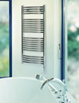 Zehnder Palma ZCLI range Polished Stainless Steel Towel Rail Bathroom Radiators