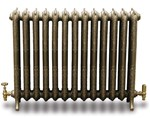 Rococco/Windsor 950 - 1 Column - Period Radiator In Primer By Carron Radiators at Jig