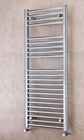 Cheshire Radiators Tarporley 800mm Height Straight Chrome Cross Tube Towel Rail