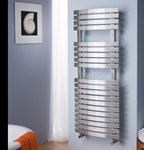 Aquila Electric Only Thermostatic POL1 Towel Radiator by MHS Radiators-CALL FOR BEST PRICE