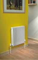 Ekos 9566 668mm high x 95mm deep aluminium section radiator by The Radiator Company