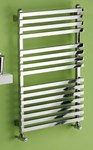 MHS Square Polished Stainless Steel Towel Rail by MHS Radiators