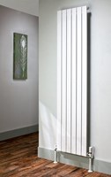 The Radiator Company Picchio Single Vertical Designer Radiator in Colour
