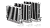 Victorian 460 4 Column Period Radiator in Full Polish by Carron Radiators at Jig