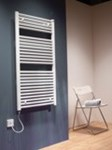 Caleido Electric Towel Rail in colours By The Radiator Company