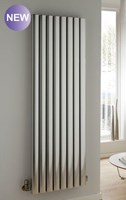 The Radiator Company Vista Vertical Radiator in White or Black