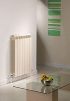 Vox59 590mm height aluminium designer radiator by The Radiator Company IN STOCK