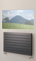 Brolin Radiators Malmo Horizontal Single Flat Panel Radiator