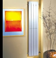 Decoral Hi 900 watt electric vertical aluminium radiator by MHS Radiators