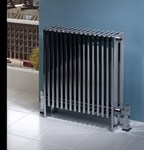 XL Highly polished contemporary radiator by MHS Radiators