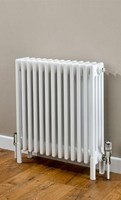 Cheshire Radiators Kingsley 3 Column Horizontal Steel Radiator in white