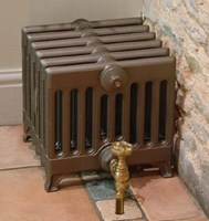 Victorian 330 - 9 Column Period Cast Iron Radiator Painted By Carron at Jig
