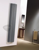 MHS Zenon Line Semi-Round Vertical Tubular Steel Radiator by MHS