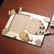Giraffe/Whale Photo Frame