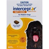 Interceptor Dogs 25-50lbs (12-22kg) - 6 Chewables