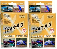 TEAR AID - TYPE A - RETAIL KIT x 2 (TWO RETAIL KITS)