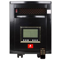 Indoor Infrared Heater Remote Control 1000 SQFT 6 Quartz Emitters