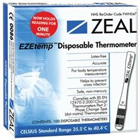 Disposable Thermometer- Ezetemp
