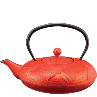 Teapot - Dragonfly Red