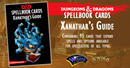 D&D Spellbook Cards - Xanathar's Deck (95 Cards)