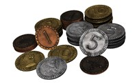 Clans of Caledonia Metal Coins (PREORDER)