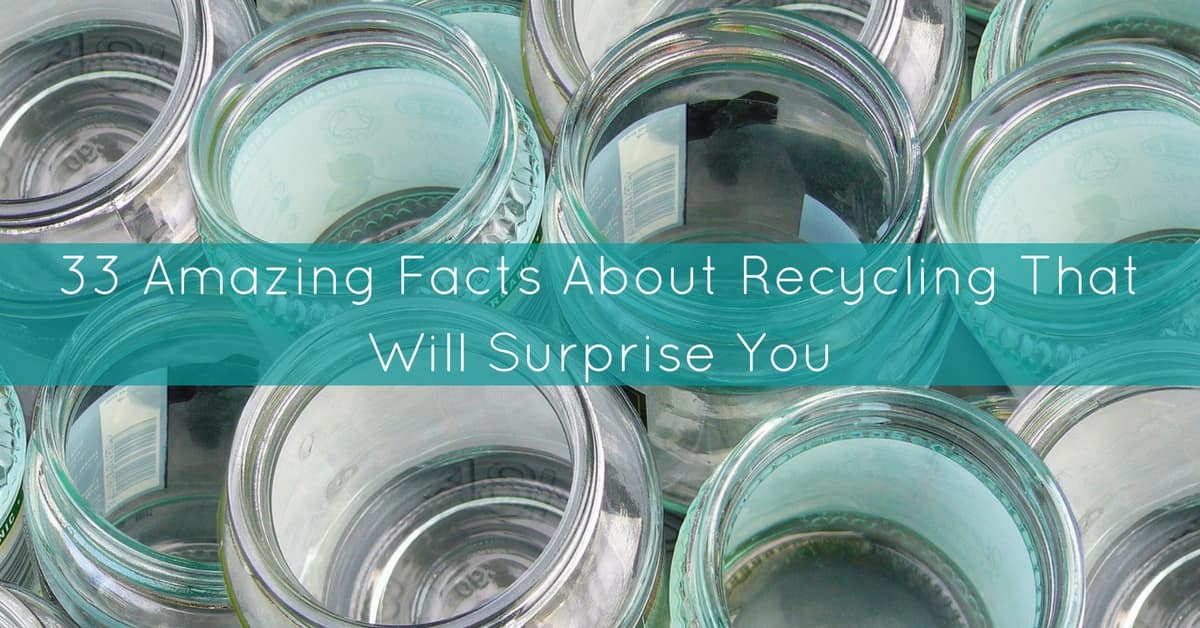 33 Amazing Facts About Recycling That Will Surprise You