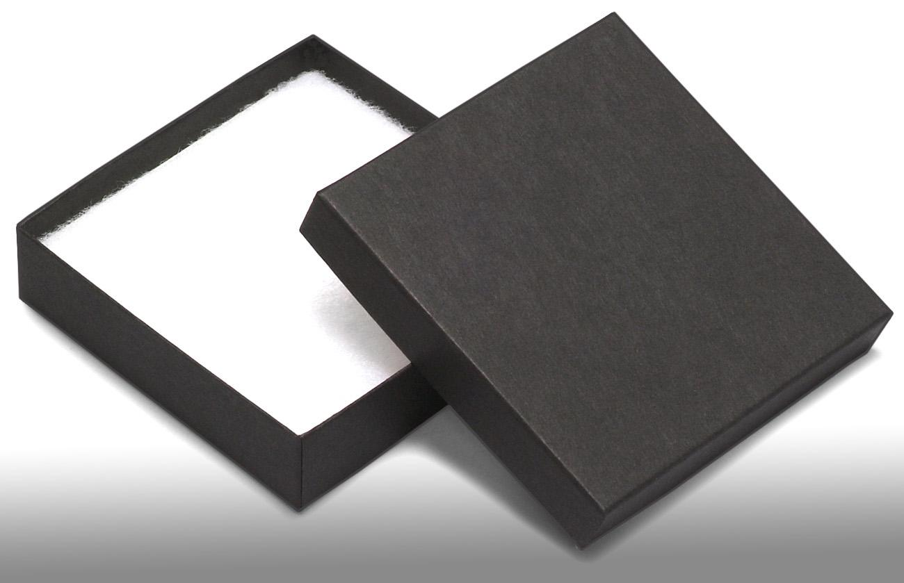 Wholesale black recycled jewellery boxes