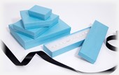 Kraft Bright Blue jewellery boxes &  gift boxes