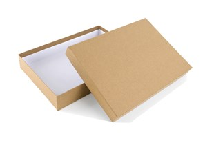 Luxury Kraft Natural A4  presentation Box 215 x 310 x 50mm (WPA41KR)