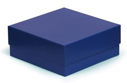 Blue Box With Blue Satin Lining 200x200x50mm