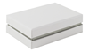 Shoulder Box Collection | Earring Jewellery Box White & Grey