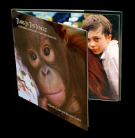 Tears In The Jungle HARD COVER BOOK