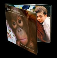 Tears In The Jungle:  A Children's Adventure to Save the Orangutan HARD COVER BOOK