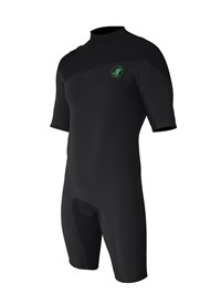 ZION WETSUITS Cortez 2/2mm Zipperless Springsuit - Graphite/ Black - Summer 2015/16 Range