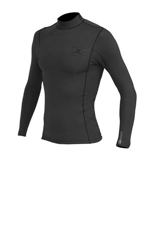 REEFLEX WETSUITS 1.5mm Long Sleeve Wetsuit Vest - Graphite/ Blue
