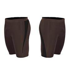 ZION WETSUITS MATLOCK 2/2mm Wetsuit Shorts - Chocolate /Black - 2014/15 Summer Range