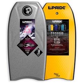 PRIDE BODYBOARDS Royal Flush Polypro Core - 2016/17 Model
