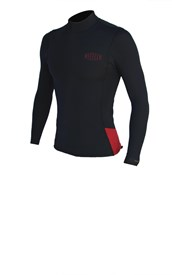 REEFLEX WETSUITS 1.5mm Long Sleeve Wetsuit Vest - Black/ Red - Summer 2017/18 Range