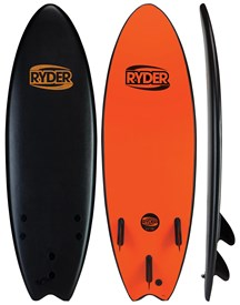 RYDER SOFT SURFBOARD Thruster Fish Series - 5'6