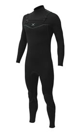 REEFLEX WETSUITS Sultan 3/2mm S-Sealed Chest Zip Steamer - Black - 2017/18 Summer Range