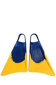 DRAG FINS Foot Darts - Blue/ Yellow