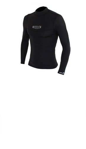 REEFLEX WETSUITS 1.5mm Long Sleeve Wetsuit Vest - Black - Summer 2016/17 Range