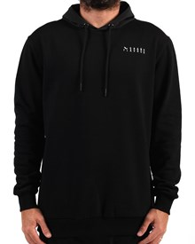 GRAND FLAVOUR Nylon Hooded Jacket - Black