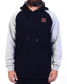 GRAND FLAVOUR Heater Hoody - Black/ Grey