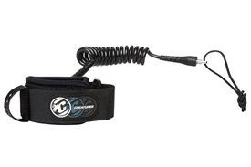 CREATURES OF LEISURE Deluxe Coiled Wrist Leash - Black / Black