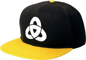 UNITE Link Snap Back Hat - Black/ Yellow