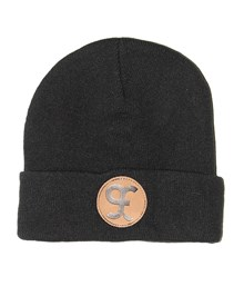 GRAND FLAVOUR Night Owl Beanie - Black