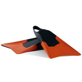 VULCAN V2 FINS - Forest Green/ Orange